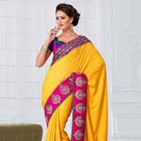 Mahalaxmi Sarees offers Viscose Sarees Weightless Sarees
