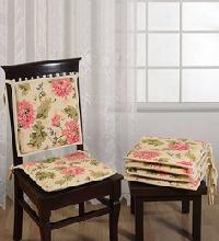 Hand Block Printed Chair Pads