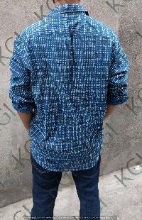Hand Block Printed Mens Shirt 01