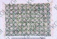 Hand Block Printed Handloom Rug 01