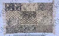 Hand Block Printed Handloom Rug 03