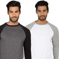 Mens Knitted Round Neck T-shirt