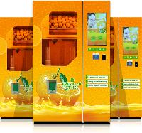 Squeezed Orange Juice Vending Machine