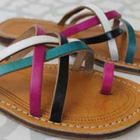 Amina Ladies Handcrafted Leather Sandals