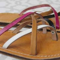 Caja Ladies Handcrafted Leather Sandals