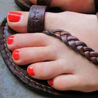 Nomad Ladies Handcrafted Leather Sandals