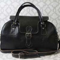 Duffle Leather Travel Bag