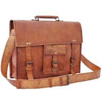 Luxury Leather Satchel Bag