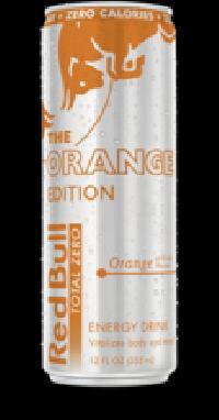 Orange Edition Red Bull Energy Drink