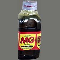 Mg Kachi Ghani Mustard Oil (200 Ml Bottle)