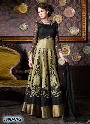 Chikan Embroidered Suit