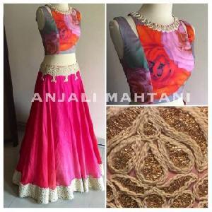 Cotton Designer Lehenga