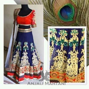 Designer Embroidered Lehenga Choli