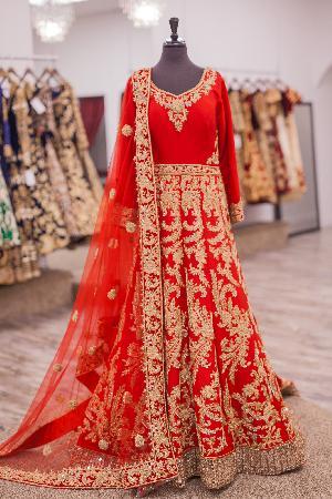 Wedding Anarkali Salwar Kameez