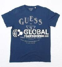 Guess Mens Round Neck T-Shirts