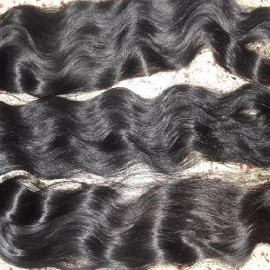Single Drawn Virgin Wavy Hair