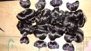 Virgin Double Drawn Bouncy Hair