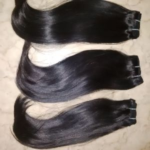 Virgin Double Drawn Silky Straight Hair