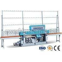 Straight line glass edge polishing machine
