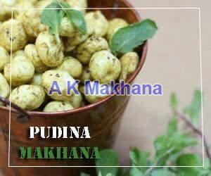 Pudina Makhana