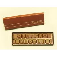 Happy Diwali Wishes Chocolate