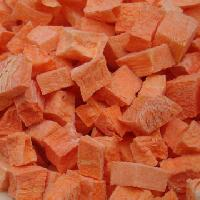 Dehydrated Carrot Cubes