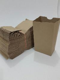 Flat Bottom Grocery Bags