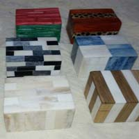 Bone Horn Wood Sea Shell Conch Combined Boxes