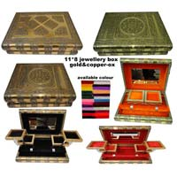 Metal Jewelry Boxes