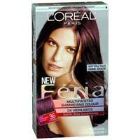 Loreal Burgundy Hair Dye Colour
