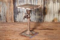 Iron Handpump Side Table