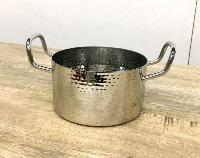 Stainless Steel Hammered Sauce Pan