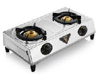 Stainless Steel Double Burner Cooking Stove