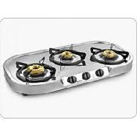 Stainless Steel Triple Burner Cooking Stove