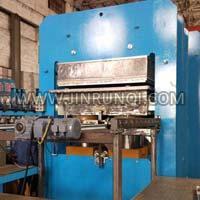 Frame Structure Rubber Floor Mats Vulcanizing Press
