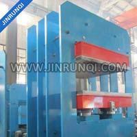 PLC Control Rubber Plate Vulcanizing Press Machine