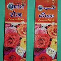 Shreyansh Rose Incense Sticks