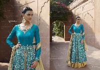 Rich Blue Salwar Duppata Set