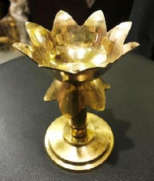 Brass Foldable Lotus Diyas