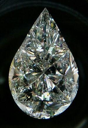 Pear Pie Cut Diamonds