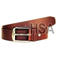 Mens Leather Belt (G58911BRN)