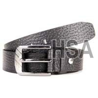 Mens Leather Belt (G58922BLK)