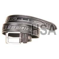Mens Leather Belt (g58950blk)