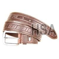 Mens Leather Belt (G58950BRN)