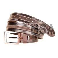 Mens Leather Belt (G58952BRN)