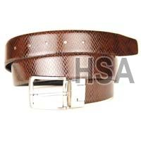 Mens Leather Belt (G58967REV)