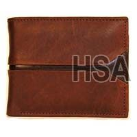 Mens Leather Wallet (F65910BRN)