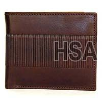 Mens Leather Wallet (F65911BRN)