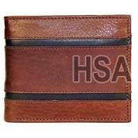 Mens Leather Wallet (F65916BRN)