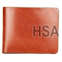 Mens Leather Wallet (F65929BRN)